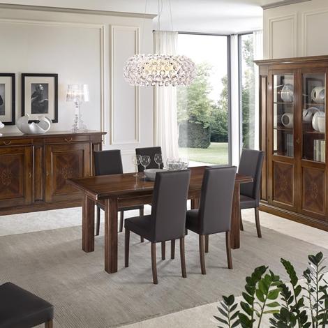 Tavolo e credenza in stile salone - Credenza sala da pranzo ...
