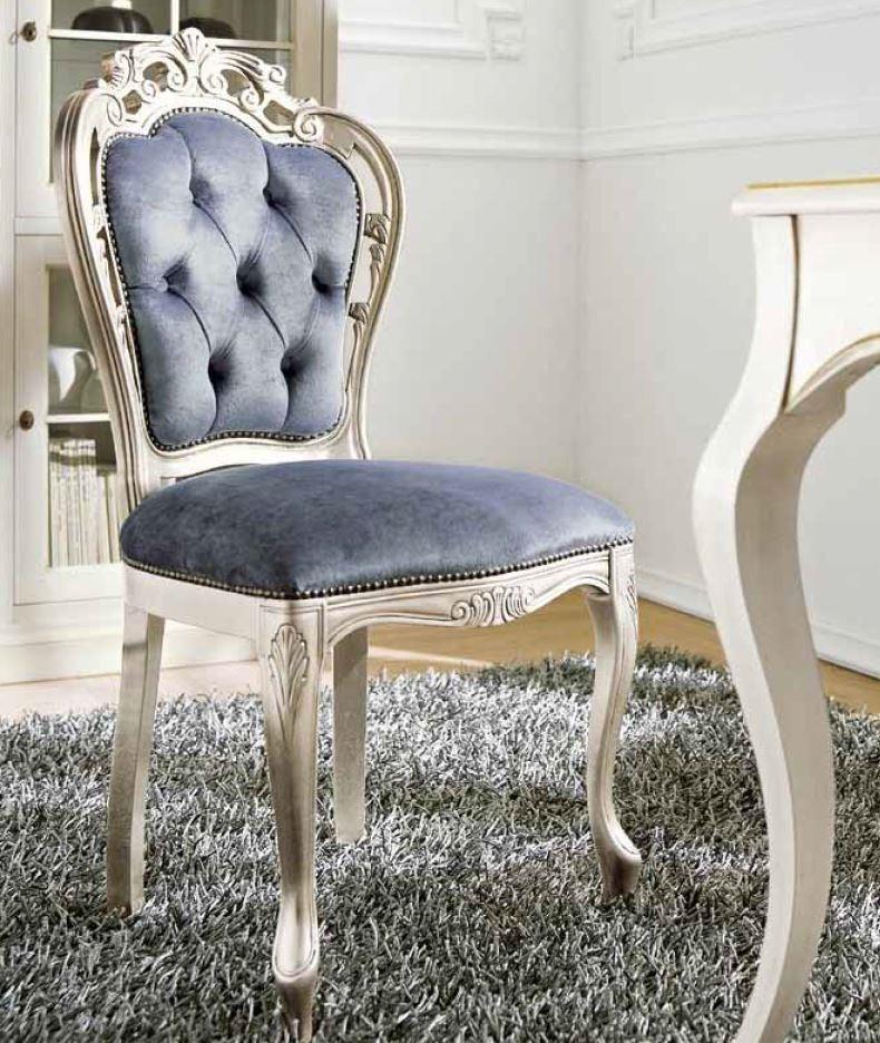 Scrivania e sedia classica di flai classic tavoli a for Sedia scrivania design