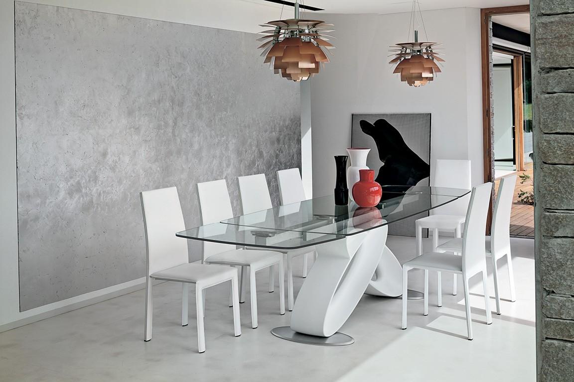 Tavolo target eclipse tavolo in ristallo rettangolari for Mobilya arredamenti