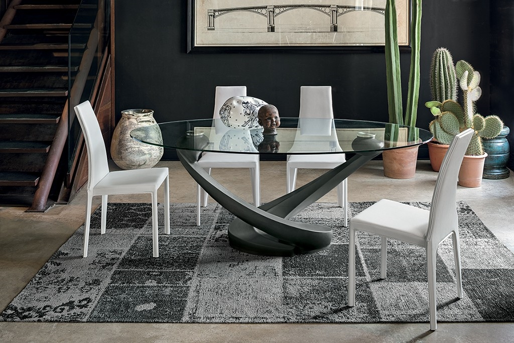 Target tavolo tango ovali fissi vetro tavoli a prezzi for Point tavoli