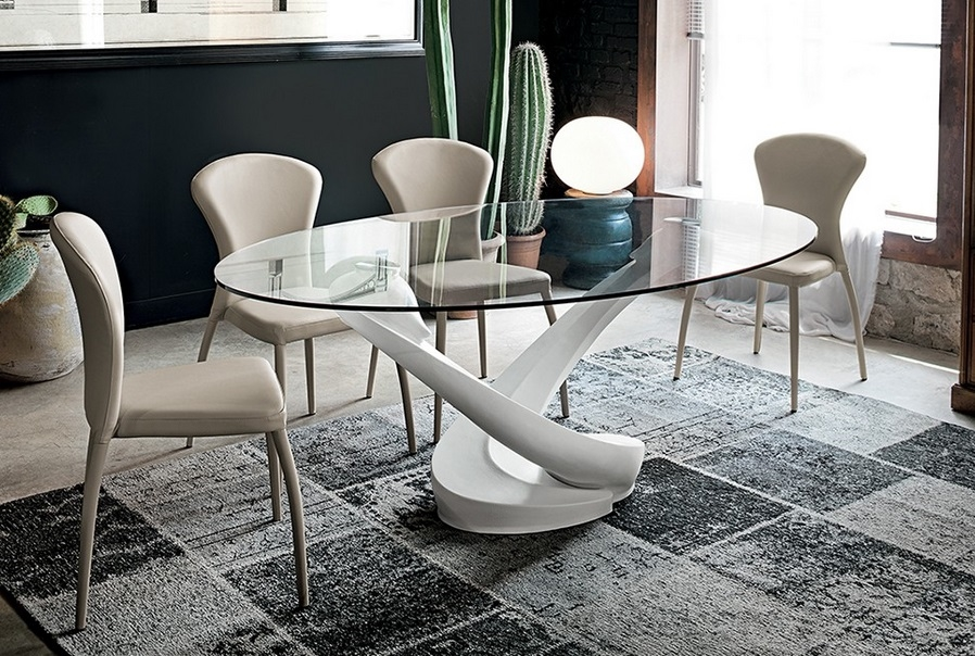 Target tavolo tango ovali fissi vetro tavoli a prezzi for Tavoli ovali moderni