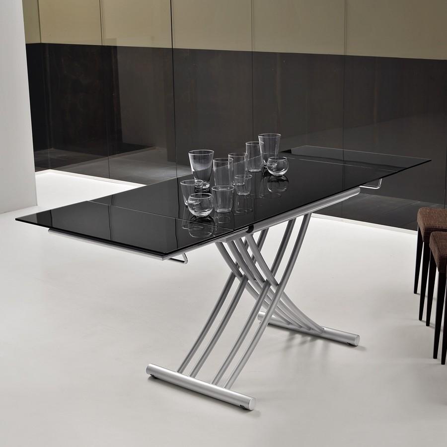 Tavolino che diventa tavolo moderno idee creative su for Tavolo da salotto moderno