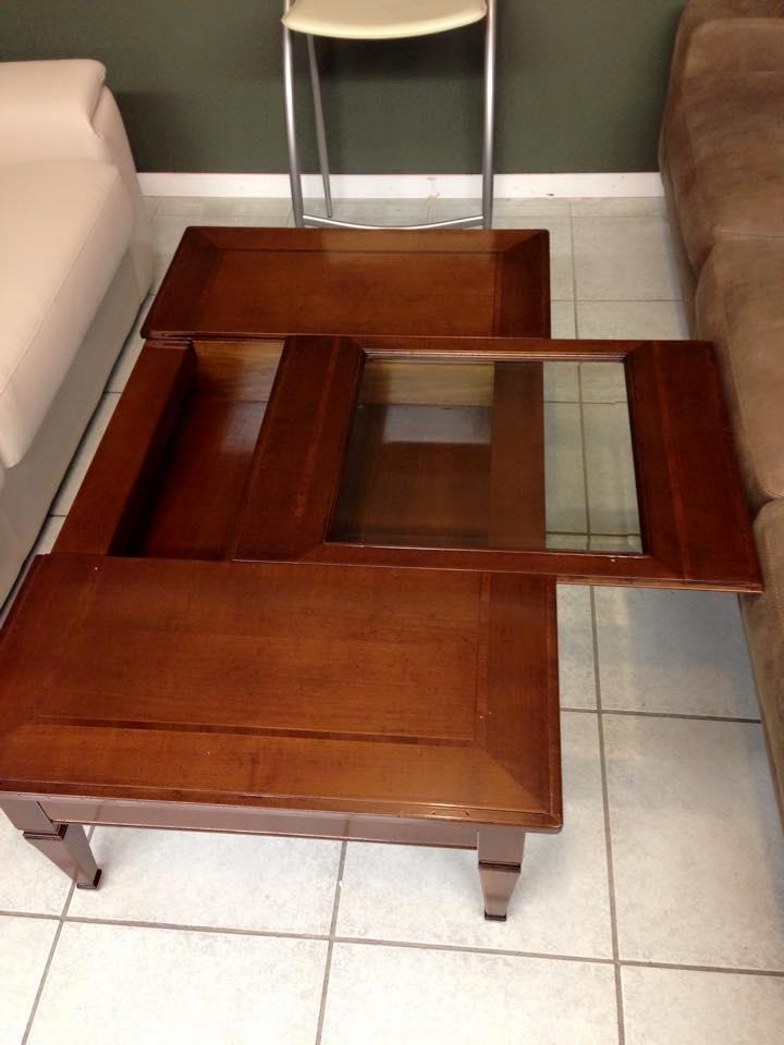 Tavolino da salotto artigianale scontato del 39 for Tavolino salotto legno