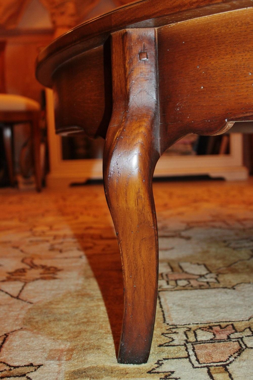 La griffe tavolino da salotto con 2 piani estraibili for Piani di garage con lo spazio del negozio