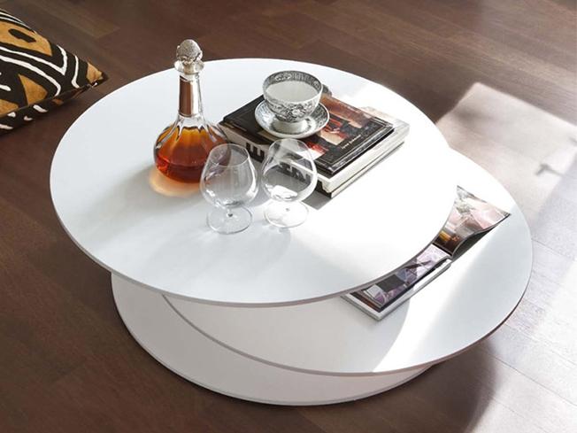 Tavolino da salotto con 3 piani sfalsati design by tonin for Piani di casa con i prezzi