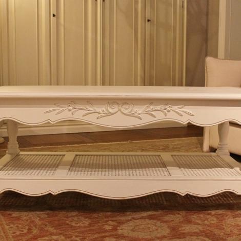 tavolino da salotto stile provenzale, 2 tiretti laterali - al 40 ... - Tavoli Da Soggiorno Stile Provenzale 2