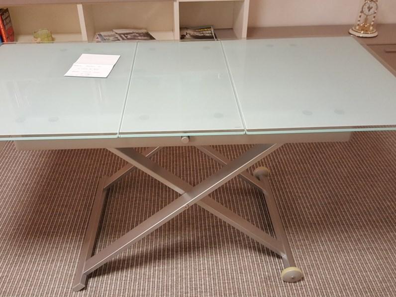 Tavolino regolabile allungabile calligaris scontato 48 for Tavolino salotto allungabile