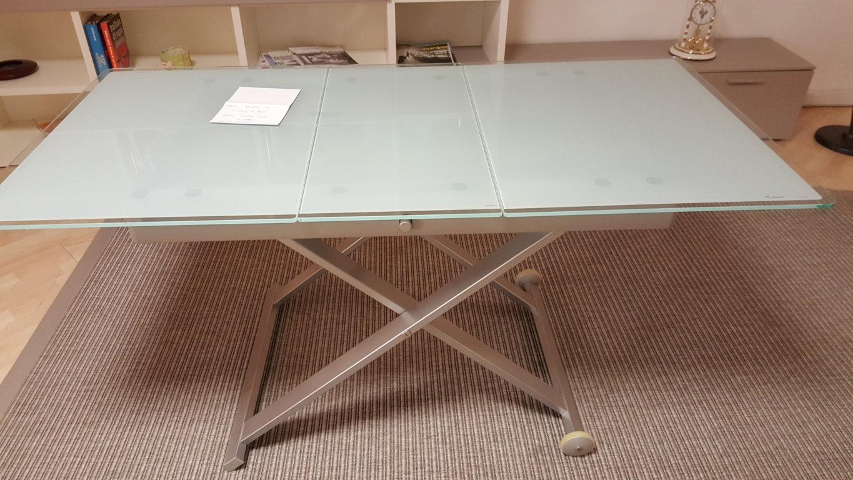 tavolino regolabile allungabile calligaris scontato 48