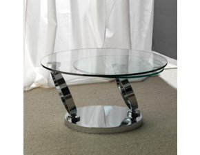 Tavolino rotondo Rings di La Seggiola a prezzo scontato