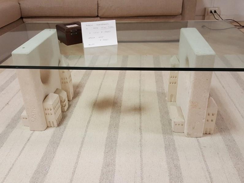 Tavolino Per Salotto Vetro.Tavolino Salotto Piano Vetro Scontato 57