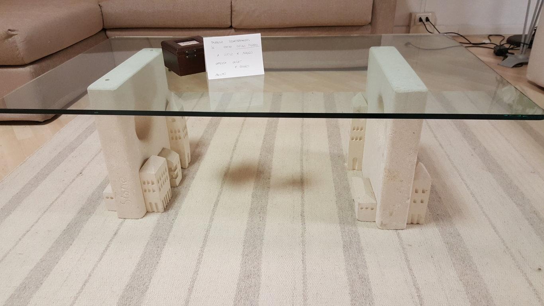 Tavolino salotto piano vetro scontato 57 tavoli a for Vicentini arredi