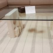 tavolino salotto piano vetro scontato 57%