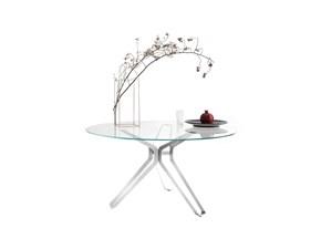 Tavolo 3pod Lema in vetro Fisso