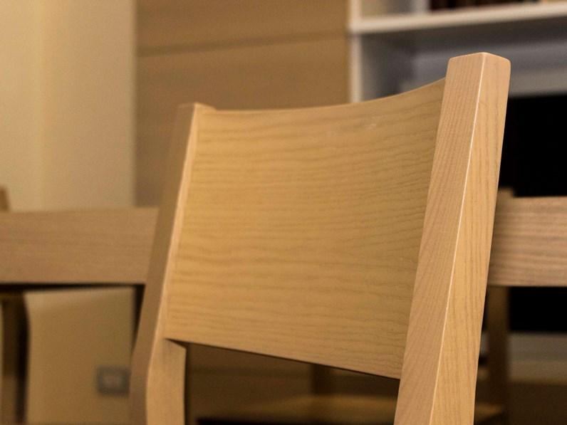 tavolo + 4 sedie Magic ditta Veneta Cucine sconto 60%