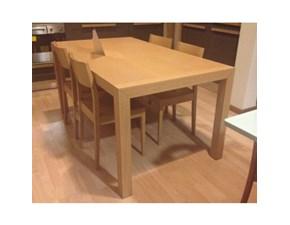 Tavolo + 4 sedie Magic ditta Veneta Cucine sconto del 60%