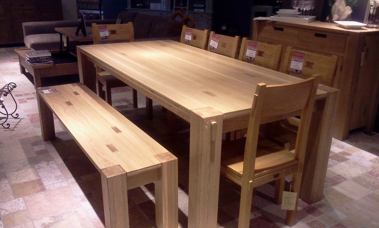 Tavolo 6 sedie panca elephan tavoli a prezzi scontati for Panche in legno leroy merlin
