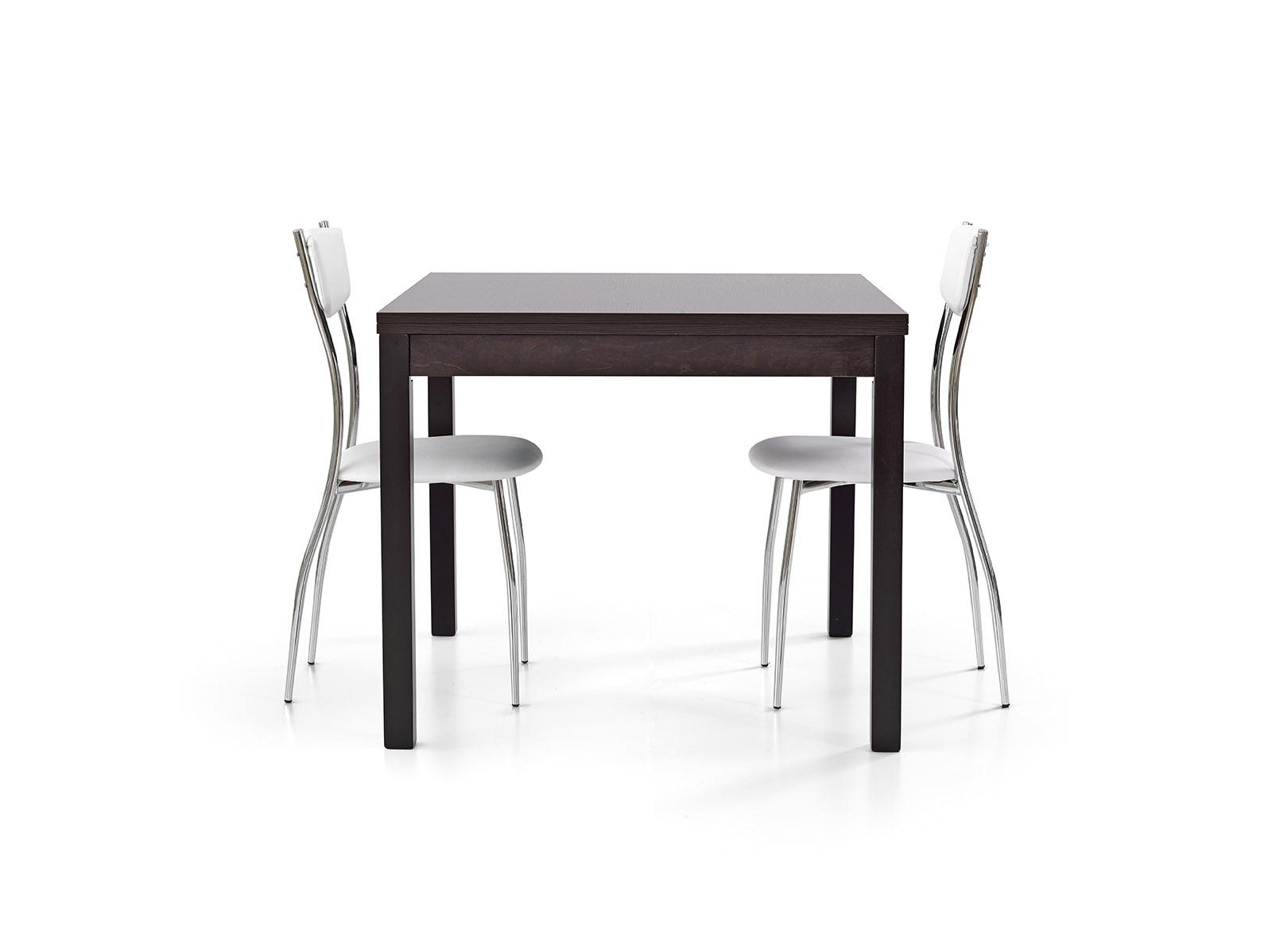 Tavoli quadrati allungabili a libro design casa creativa for Tavolo 90x90 allungabile