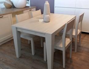 Tavolo Acrisio Mirandola in legno Rettangolare allungabile