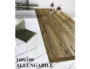 Tavolo Air allungabile 160x100 Lago in legno Allungabile