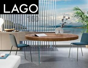 Tavolo Air tondo 160 wildwood Lago in OFFERTA OUTLET