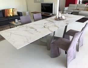 Tavolo allungabile Art calacatta vecchia Bonaldo a prezzo scontato