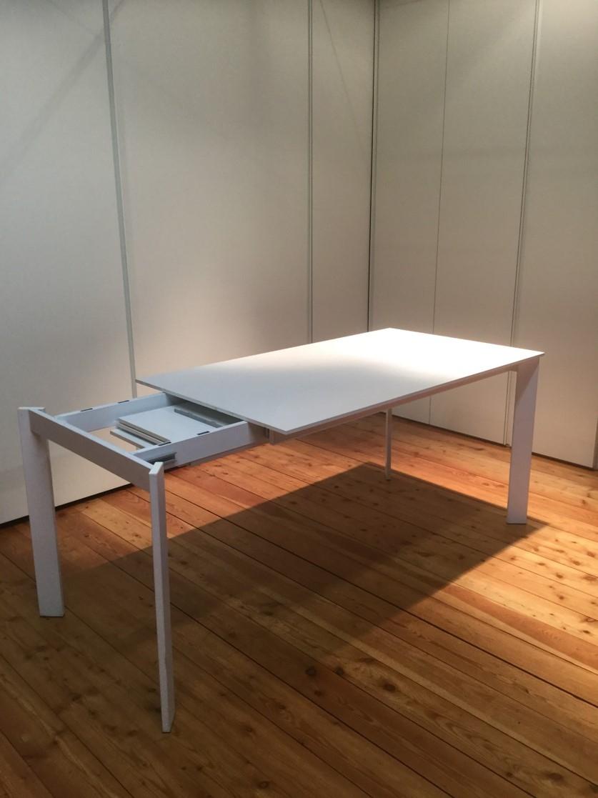 Tavolo allungabile con gambe perimetrali cs10164 calligaris tavoli a prezzi scontati - Tavolo allungabile calligaris ...