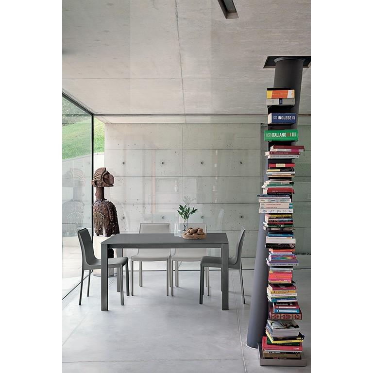 Tavolo allungabile con piano in vetro tavoli a prezzi - Tavolo con piano in vetro ...