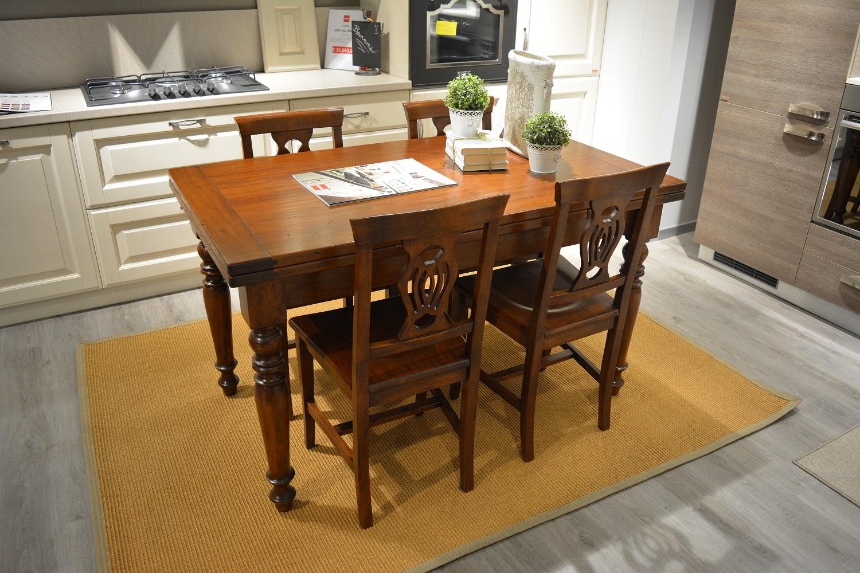 Tavolo allungabile in massello tavoli a prezzi scontati - Tavolo in legno massello prezzi ...