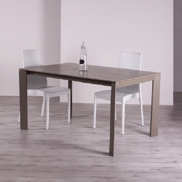 Tavolo allungabile da cucina teorema tavoli a prezzi for Cerco tavolo da cucina allungabile
