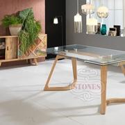 tavolo allungabile Heaven  in vetro scontato del 20%