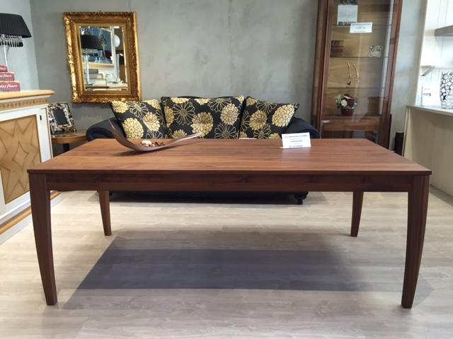 Tavolo allungabile in legno di noce arte brotto tavoli a - Tavolo legno allungabile prezzi ...