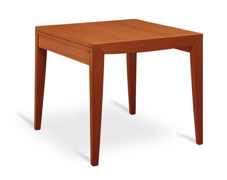 Tavolo quadrato allungabile in legno e vetro diana 2 for Tavolo quadrato allungabile vetro