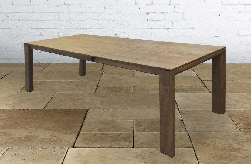 Tavolo allungabile in legno massello 200 287 cm tavoli a for Tavolo massello allungabile
