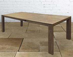 Tavolo allungabile in legno massello 200/287 cm