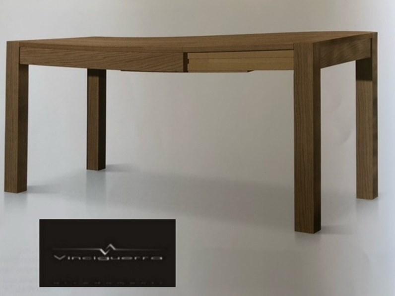Tavolo allungabile in legno massello di artigiani veneti for Tavolo allungabile in legno massello offerta