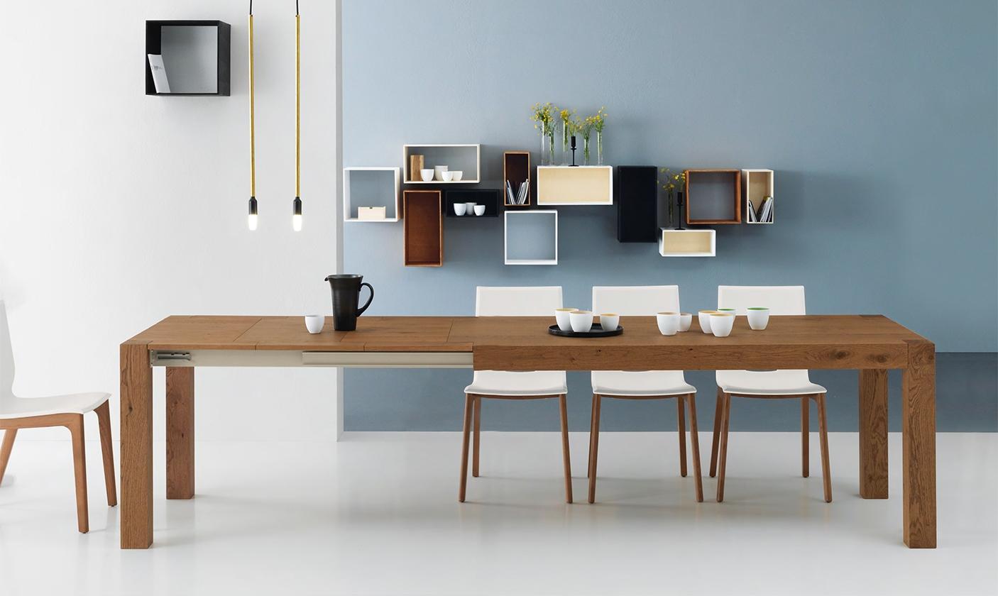Tavolo allungabile in legno naturale nuovo a prezzo for Vendita tavolo allungabile
