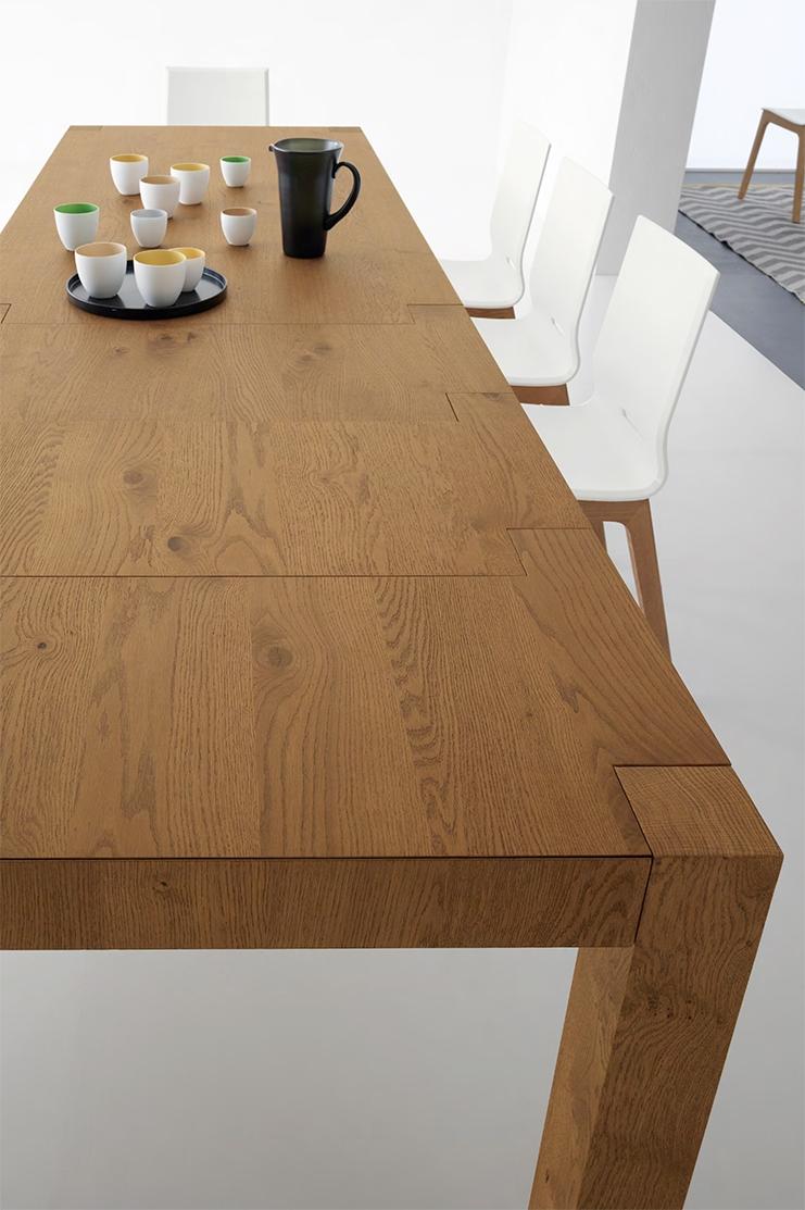 Tavolo allungabile in legno naturale nuovo a prezzo for Tavolo legno naturale