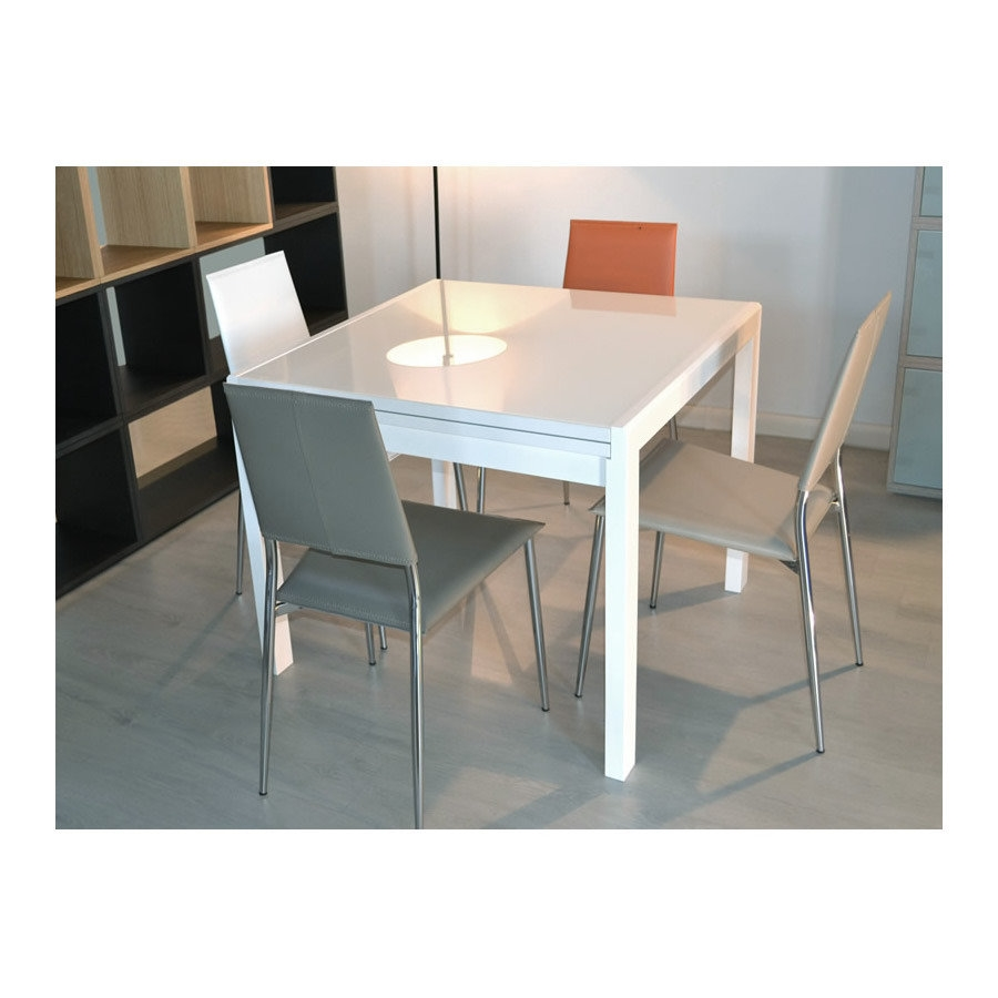 Tavolo allungabile in legno tavoli a prezzi scontati for Tavoli bianchi moderni