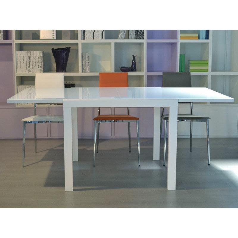 Tavolo allungabile in legno tavoli a prezzi scontati for Tavolo 90x90 allungabile