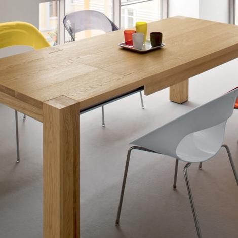 Tavolo allungabile in rovere tavoli a prezzi scontati - Tavoli da cucina allungabili moderni ...
