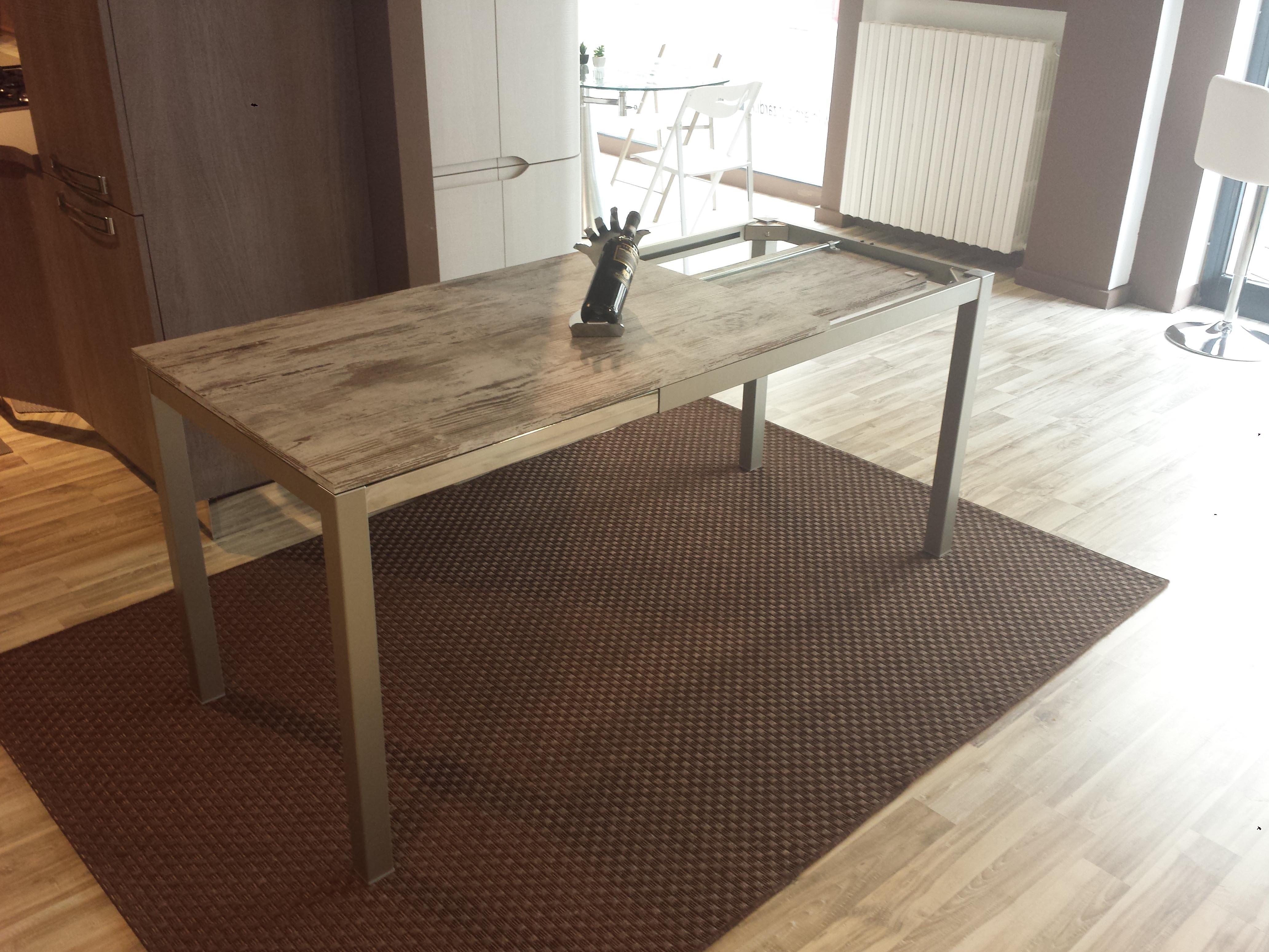 Tavolo kitchen rettangolare allungabile laminato tavoli for Cerco tavolo da cucina allungabile