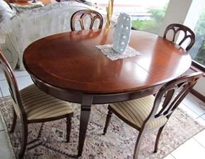 Tavolo allungabile Le fablier in legno massello PREZZO OUTLET