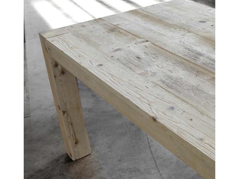 Piani Per Tavoli In Legno Vecchio.Tavolo Allungabile Legno Vecchio Prima Patina
