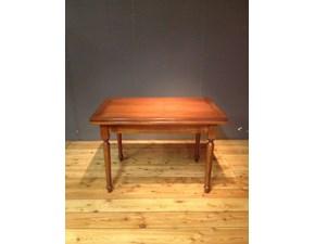 Tavolo parlani in legno massello noce allungabile