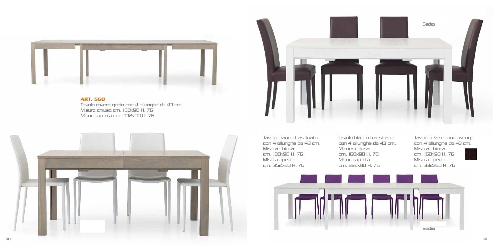 Tavolo allungabile maxi fine produzione tavoli a prezzi - Produzione tavoli allungabili ...