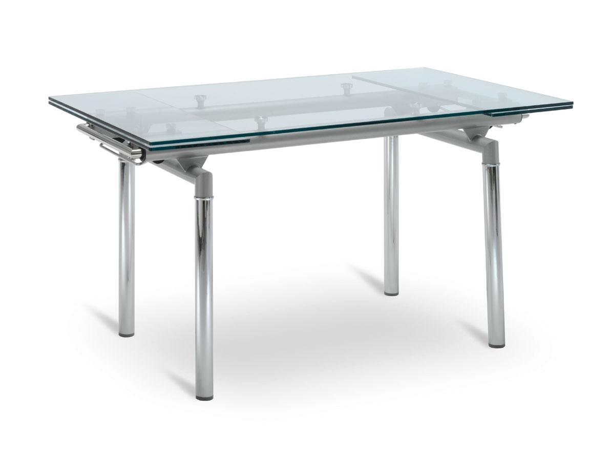 Tavolo Da Pranzo Vetro E Acciaio  madgeweb.com idee di interior design