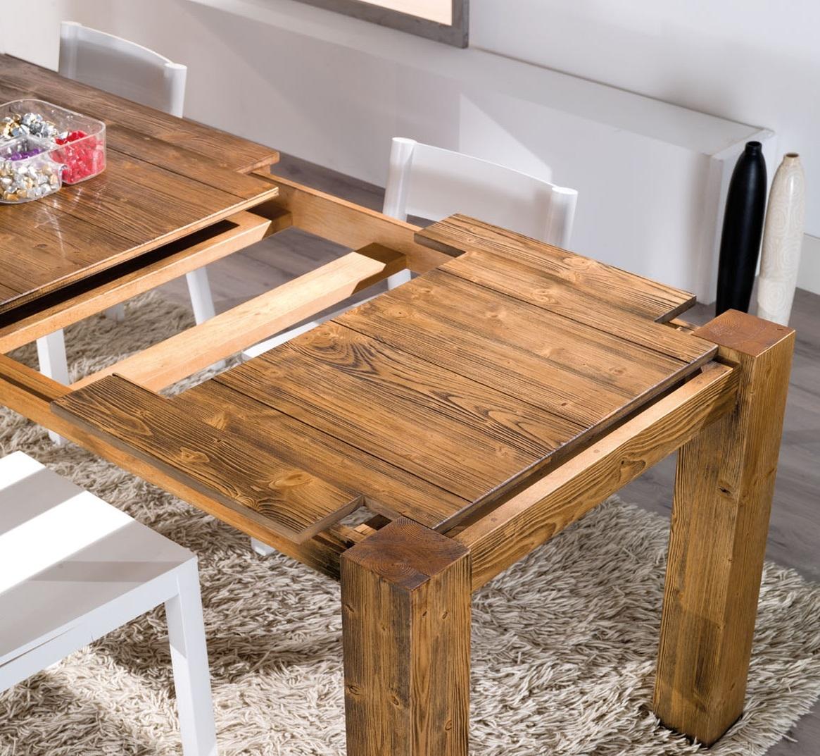Tavolo allungabile mira in legno tavoli a prezzi scontati for Tavoli estensibili in legno