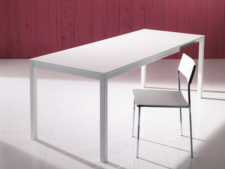 Bontempi casa tavolo mago scontato del 33 tavoli a for Tavolo cucina bianco allungabile