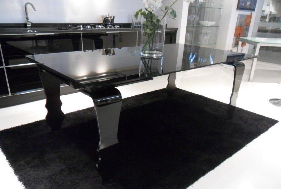 tavolo allungabile nero tavoli a prezzi scontati