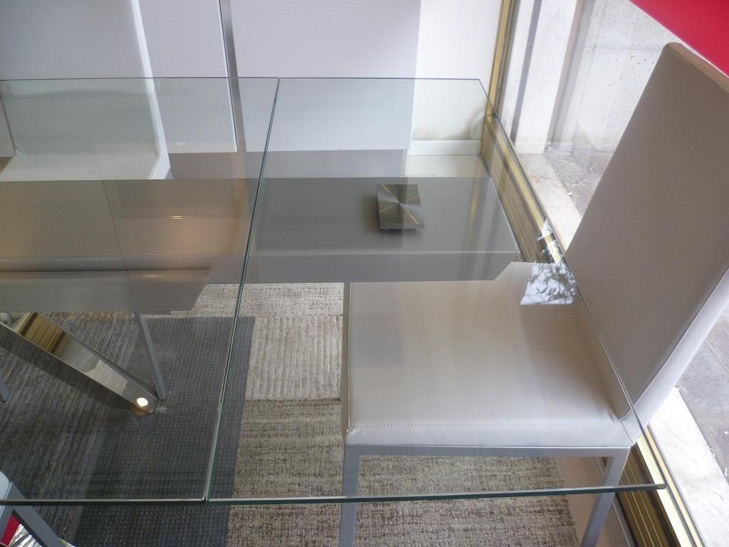 tavolo modello argo rettangolare allungabile vetro - tavoli a ... - Tavolo Allungabile Rettangolare